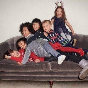 全场7折+包邮 全年最好折扣黑五开抢:H&M 儿童服饰黑五全场特卖 促销区折上折