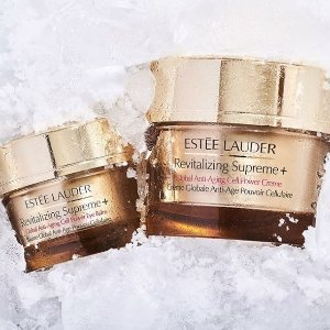 Choose Free 7-Piece Gift+ Advanced Night Repair Trio with $75 Revitalizing Supreme+ purchase @ Estee Lauder
