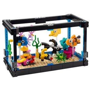 Lego8月1日上市金鱼世界 31122 | Creator 3-in-1