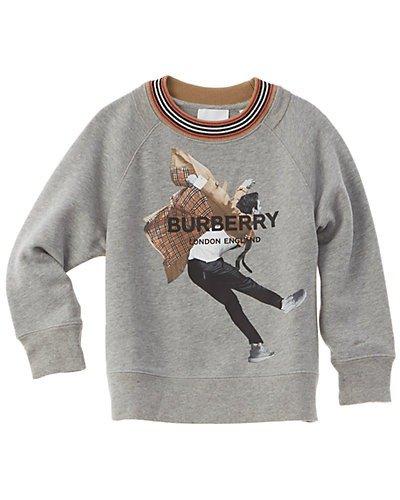 小童羊毛混纺卫衣