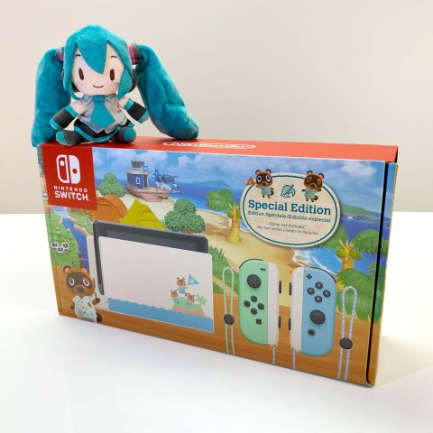 $299.99Nintendo Switch Animal Crossing Edition Game and Case System Bundle