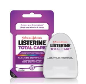 $1.99(原价$3.47)Listerine Total Care 牙线 减少牙周病口臭蛀牙等口腔疾病~