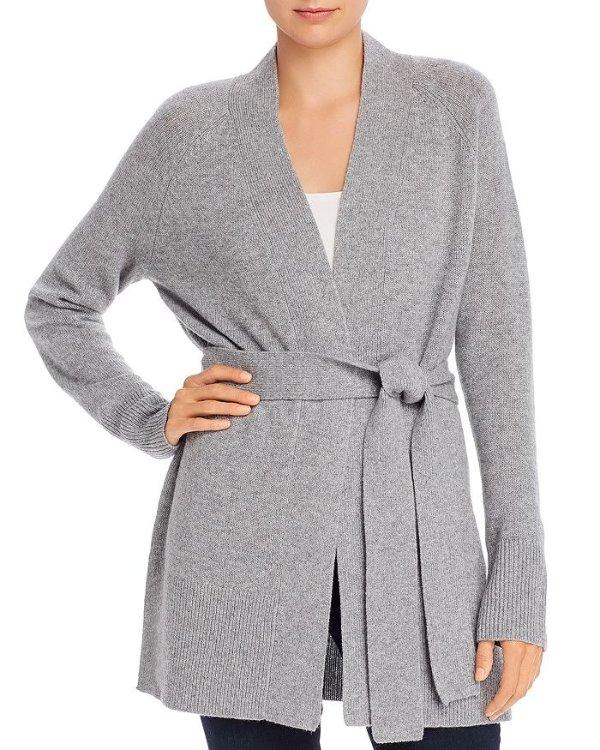 羊毛绑带衫