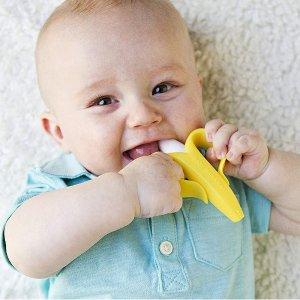 $9.99 销量冠军!Baby Banana 香蕉宝宝婴儿牙刷牙胶
