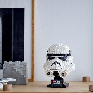 Lego4月19日上市 补货中帝国风暴兵头盔 75276 | 星战系列