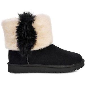 UGG Australia黑白雪地靴