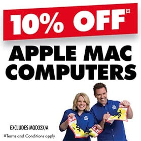 全场9折 新款MBP 16也参加最后一天:The Good Guys官网 Apple系列电脑限时特卖