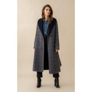 Soia & KyoXS 廓形十足ELEONORE 双面羊毛大衣