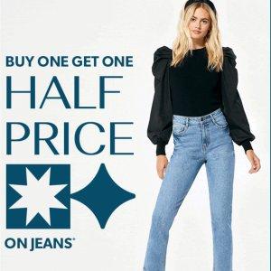 第二件半价!£13就收New Look 牛仔裤大促 好看百搭 白菜价!