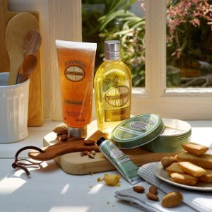 Up to 9-pc Free GiftSitewide Sale @ L'Occitane