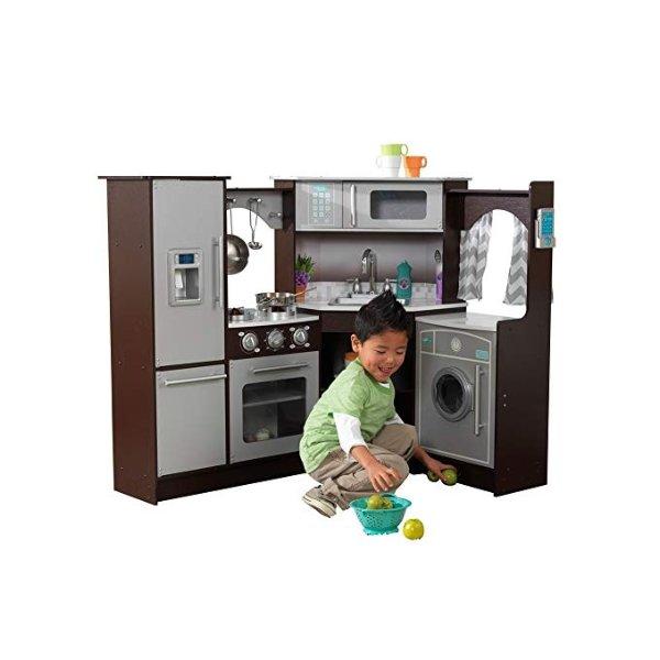 超仿真儿童厨房,带声、光效果