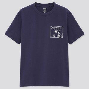 Uniqlo小logo史努比T恤