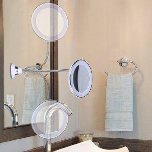 KEDSUM Flexible Gooseneck LED Lighted Makeup Mirror
