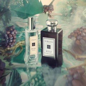 满$100送Q香+身体乳Jo Malone 2020新香 收别墅香氛蜡烛系列、仙境花园白瓶黑瓶
