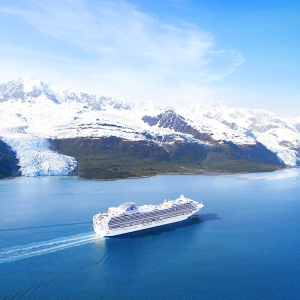 As low as $3667 Days Voyage of the Glaciers with Glacier Bay on Princess Cruise Line