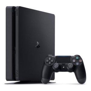 $289 (原价$399)PlayStation 4 500GB Slim Console 黑色热卖
