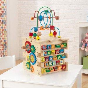 低至3.6折KidKraft 儿童早教木质玩具促销