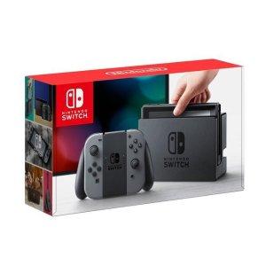$299.99 送两个游戏Nintendo Switch 32GB 灰色游戏主机