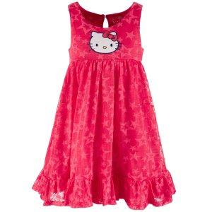 $5.99起  包邮Hello Kitty 软萌女童服饰促销