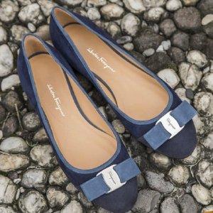 最高享7.5折 经典款$293黒五价:菲拉格慕 蝴蝶结鞋,美包阶梯满减