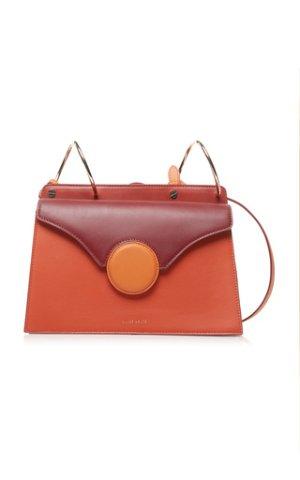 Phoebe Color-Blocked Leather Shoulder Bag   by Danse | Moda Operandi