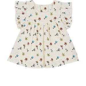 Chloe花朵婴儿连衣裙