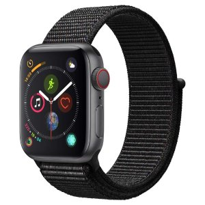 Applewatch 4代 (GPS +蜂窝电话,40mm)- 深空黑不锈钢表壳