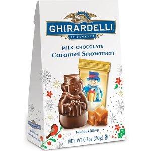 焦糖雪人牛奶巧克力礼包0.7oz 24包