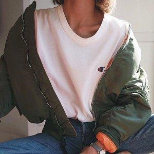 一律7.5折 Logo双肩包$22Champion 秋季闪促 男女款卫衣、多款经典T恤仅$26