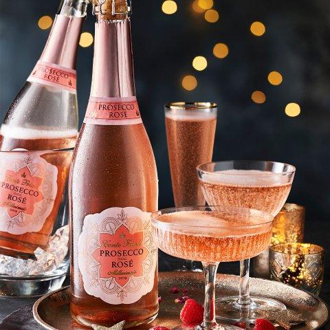 6.7折起 玫瑰红葡萄酒每瓶仅£8Marks & Spencer 高颜值酒饮专场 浪漫红酒、鸡尾酒礼篮氛围满分