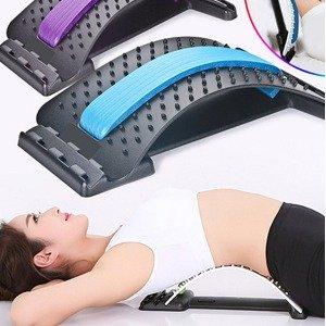 折后低至€11.99起 恢复腰背生理曲线白菜价:Anself 腰椎按摩器 多种弧度可调 有效缓解腰酸背痛