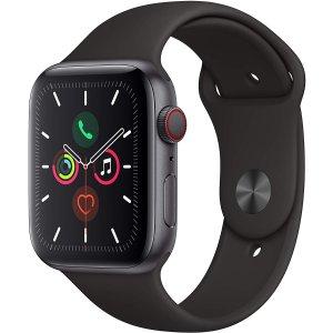 黑五价:Apple Watch Series 5 GPS + Cellular 44mm 智能手表