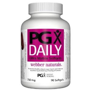 $16.62(原价$24.99) 火爆全北美Webber Naturals 韦博 PGX Daily 胶囊 控制血糖 无副作用
