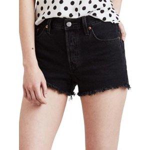 Levi's501 Mid-Rise Denim Shorts