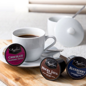 $3.95+FSAngelinos Coffee KEURIG 14 cups sample