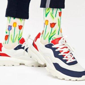 Happy Socks郁金香袜子