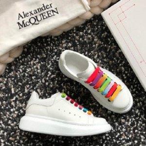 额外7.5折!封面款€318Alexander McQueen 小白鞋热促 明星达人都爱 穿上腿超长