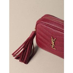 Saint LaurentLou nano Saint Laurent bag in grain de poudre leather