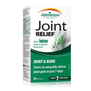$14.25(原价$21.49) 适合爱运动人士以及中老年人Jamieson 健美生 JOINTRELIEF 关节卫士 缓解关节疼痛 消除不适