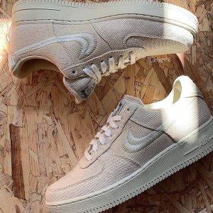 预计年底发售新品预告:Nike Air force 1 × Stussy 合作款球鞋曝光 炸街准备