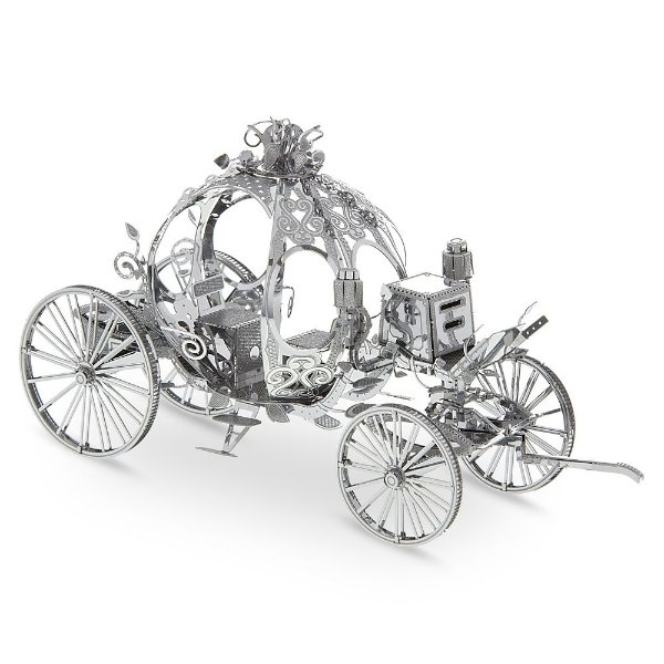 Cinderella 金属南瓜马车3D拼图