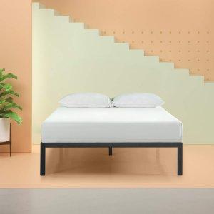 $57.79 包邮Zinus Mia 简约床架 多尺寸可选 14寸高