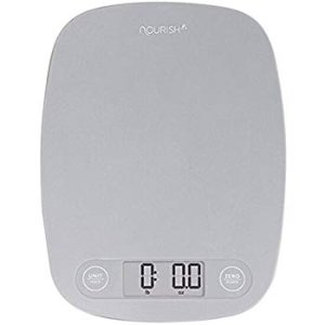 Amazon.com: GreaterGoods Digital Food Kitchen Scale, Multifunction Scale Measures in Grams and Ounces (Grey): Gateway