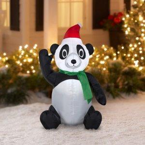 封面款熊猫$5.99Walmart精选充气装饰白菜价促销