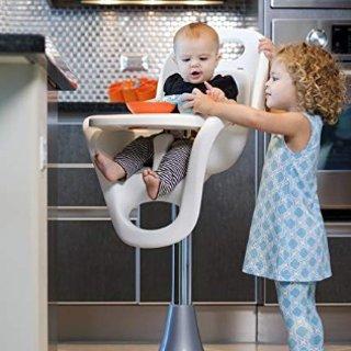 $183.15(原价$299.99) 价格再降Boon Flair 高颜值儿童高脚餐椅,可调节高度