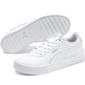 无门槛8折 封面款仅£36Puma 白色专场 小白鞋、老爹鞋、厚底经典Cali特卖