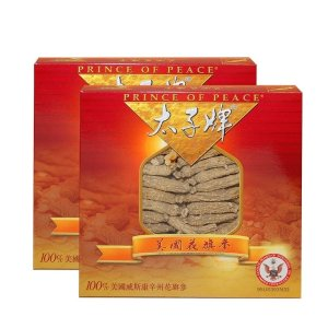 Prince of Peace Wisconsin American Ginseng Small Short Roots, 3 oz/pack (Pack of 2)