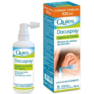2瓶€16.98 每瓶仅需€8.49Quies 洗耳水 耳朵清洁喷雾 100mlx2瓶装 代购卖疯了的采耳神器