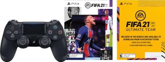 Playstation 4 DualShock 4 无线手柄 + FIFA 21 数字版
