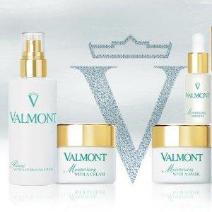 精选8折+满额次日达Valmont 贵妇护肤中秋大促 快来get欧洲皇室同款